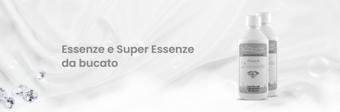 Essenze e Super Essenze da bucato
